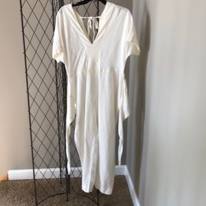 Free People Wrap Front cropped Jumpsuit